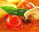 สูตรอาหารไทย : แกงเผ็ดเป็ดย่าง(red curry with roasted duck)