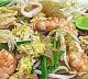 อาหารไทย : ผัดไทยทะเล(pad thai seafood)