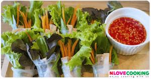 สลักผักเวียดนาม อาหารคลีน อาหารเวียดนาม เมนูผัก
