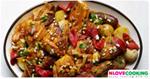 ไก่อบพริก อาหารจีน เมนูไก่ เมนูอบ