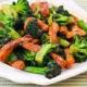 อาหารจีน : BROCCOLI WITH PORK