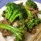 Chinese Food : Fried stir Beef and Broccoli