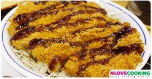 ไก่ทอดคัทสุ อาหารญี่ปุ่น เมนูไก่ เมนูทอด