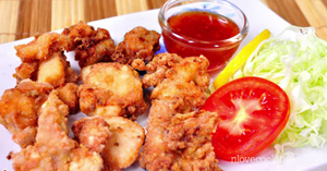 ไก่ทอดคาราเกะ อาหารทอด เมนูไก่
