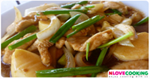 ไก่ผัดเต้าหู้ อาหารจีน เมนูไก่ เมนูเต้าหู้