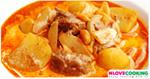 แกงมัสมั่นเนื้อ อาหารไทย เมนูแกงกะทิ เมนูเนื้อวัว