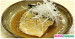 ปลาซาบะมิโซะ ปลานึ่ง อาหารญี่ปุ่น เมนูปลา