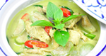 แกงเขียวหวานไก่ อาหารไทย เมนูไก่ แกงเขียวหวาน
