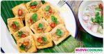 ขนมปังหน้าหมู อาหารไทย เมนูทอด เมนูหมู