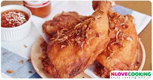 ไก่ทอดหากใหญ่ อาหารไทย เมนูไก่ เมนูทอด