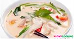 ต้มข่าไก่ อาหารไทย เมนูแกง เมนูไก่