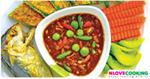 น้ำพริกกะปิ อาหารไทย เมนูน้ำพริก อาหารพื้นบ้าน