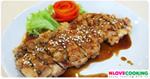 ไก่ย่างมะนาว ไก่ย่างเทอริยากิ ไก่ย่าง อาหารญี่ปุ่น