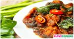 ผัดเผ็ดปลาดุก อาหารไทย เมนูปลา เมนูผัด
