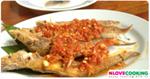 ปลาเนื้ออ่อนราดพริก อาหารไทย เมนูปลา เมนูทอด