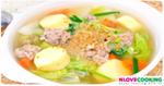 แกงจือเต้าหู้หมูสับ อาหารไทย เมนูแกง แกงจืด