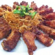 อาหารไทย ปีกไก่ทอดตะไคร้ (Fried chicken wing with lemon grass)