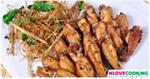 ปีกไก่ทอดตะไคร้ อาหารไทย เมนูทอด เมนูไก่
