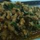วิธีทำผัดกระเพรา เมนูหมูสับ เมนูอาหาร สูตรอาหารไทย ผัดกระเพาหมูสับวุ้นเส้น ภาษาอังกฤษ เรียก Basil Fried Minced pork with cellophane noodle สูตรอาหารจานเดียว