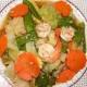 สูตรอาหารไทย : ผัดผักรวมมิตร(Fried Stir Mixed Vegetable with Oyster Sauce)
