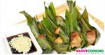 ไก่ห่อใบเตย อาหารไทย เมนูทอด เมนูไก่