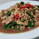 สูตรอาหารไทย : กระเพราหมูสับ(Fried Stir Basil with Minced pork)