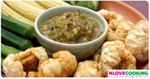 น้ำพริกหนุ่ม อาหารไทย เมนูน้ำพริก อาหารเหนือ