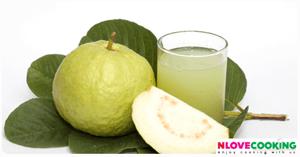 น้ำฝรั่ง สูตรเครื่องดื่ม เมนูน้ำผลไม้ วิธีทำน้ำฝรั่ง