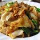 สูตรอาหารไทย : ผัดซิอิ๊วหมู (Stir fried ribbon noodle with pork)