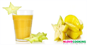 น้ำมะเฟือง สูตรเครื่องดื่ม เมนูคลายร้อน น้ำผลไม้