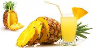 น้ำสับปะรด น้ำผลไม้ เมนูคลายร้อน