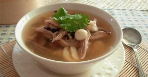 ซุปกระเพาะหมูพริกไทยดำ เมนูหมู