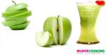 น้ำแอ็บเปิ้ลเขียว สูตรเครื่องดื่ม น้ำผลไม้ เมนูคลายร้อน