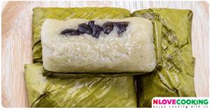ข้าวต้มมัด ขนมไทย เมนูข้าวเหนียว ขนมนึ่ง