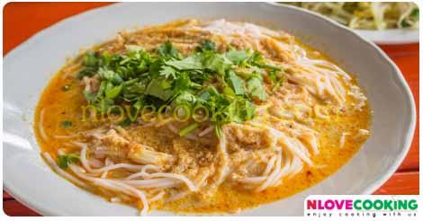 น้ำยากะทิ ขนมจีนน้ำยากะทิ อาหารไทย เมนูแกงกะทิ