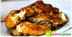 ไก่ย่างวิเชียรบุรี อาหารไทย เมนูไก่ การหมักไก่ย่าง