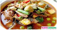 แกงป่าหมู อาหารไทย เมนูแกง เมนูหมู