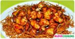 ไก่ทอดขิง อาหารจีน เมนูทอด เมนูไก่