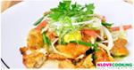 ยำไข่ดาว อาหารไทย เมนูยำ เมนูไข่