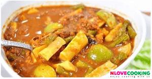 แกงไตปลา อาหารไทย เมนูแกง อาหารใต้
