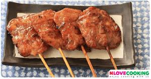 หมูปิ้ง การหมักหมูปิ้ง หมูปิ้งทำอย่างไร อาหารไทย