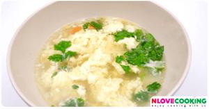 ซุปไข่ อาหารไทย เมนูไข่ เมนูแกง