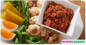น้ำพริกปักษ์ใต้ อาหารไทย เมนูน้ำพริก อาหารพื้นบ้าน