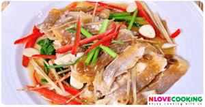 ปลานิลนึ่งเต้าซี่ อาหารจีน เมนูปลา เมนูนึ่ง