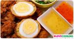 ทอดมันห่อไข่ อาหารไทย ทอดมัน เมนูไข่