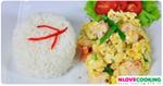 ไข่คั่วกุ้ง อาหารไทย เมนูไข่ เมนูกุ้ง