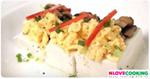 เต้าหู้ไข่เห็ดหอม อาหารไทย เมนูไข่ เมนูเต้าหู้