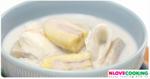 กล้วยบวชชี กล้วยบวดชี ขนมไทย เมนูกล้วย