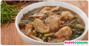 แกงแคไก่ อาหารไทย อาหารเหนือ เมนูไก่