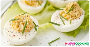 ไข่ทรงเครื่อง อาหารไทย เมนูไข่